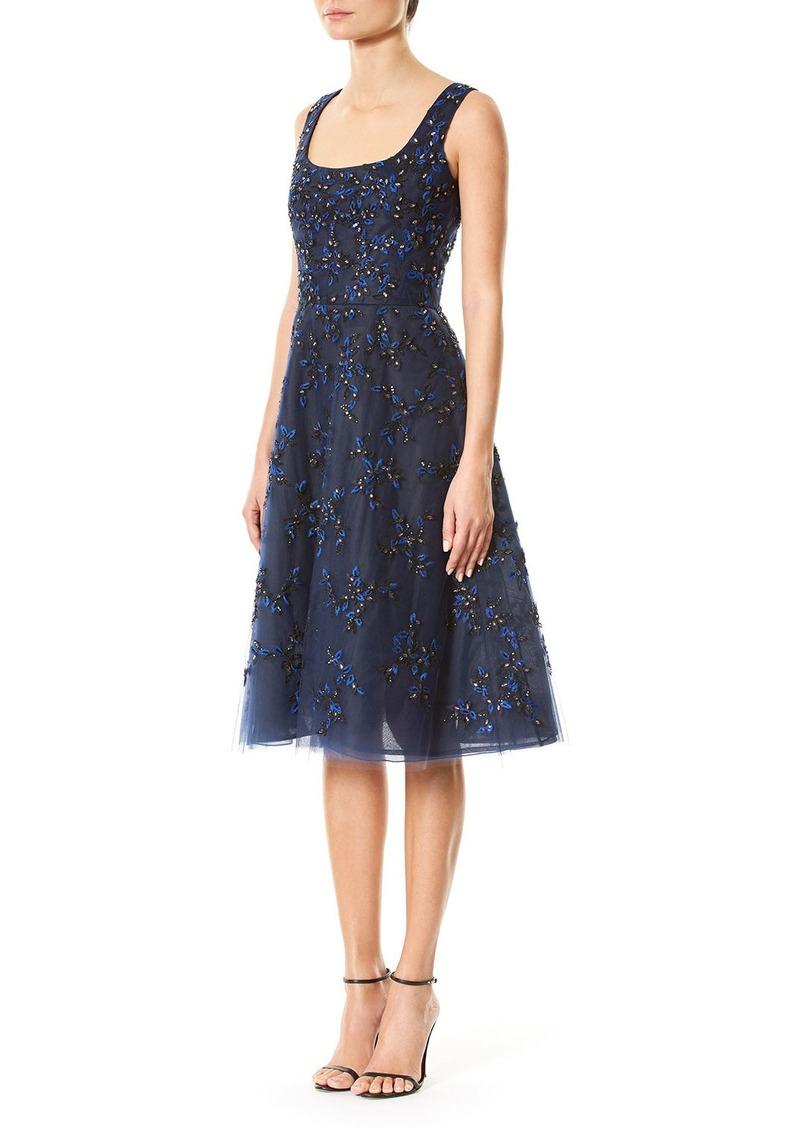 Carolina Herrera Carolina Herrera Floral-Embellished Sleeveless ...