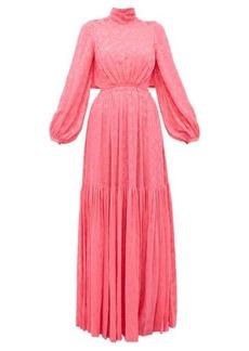 Carolina Herrera Floral fil-coupé gown