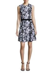 Carolina Herrera Floral Printed Dress