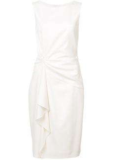 Carolina Herrera gathered detail dress