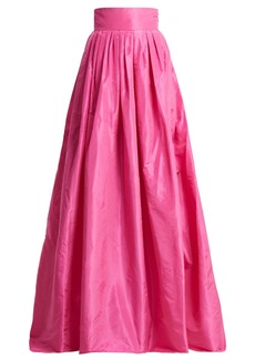 Carolina Herrera High-rise silk-taffeta ball-gown skirt