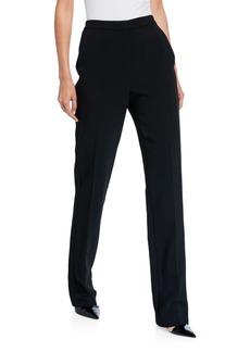 Carolina Herrera High-Rise Straight-Leg Pants