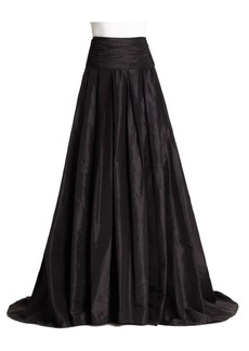 Carolina Herrera Icon Collection Silk Cummerbund Ball Gown Skirt