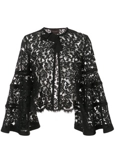 Carolina Herrera lace bolero jacket