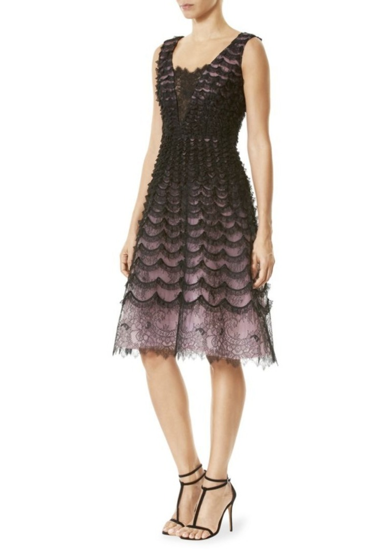 Carolina Herrera Lace Cocktail Dress Now $1,497.00
