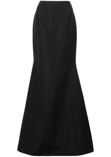 Carolina Herrera long flared skirt - Black