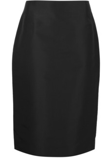 Carolina Herrera midi straight skirt - Black