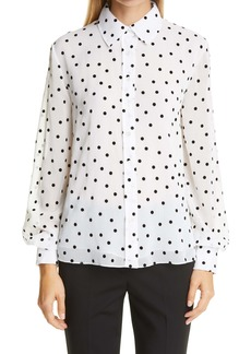 Carolina Herrera Polka Dot Shirt