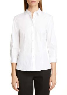 Carolina Herrera Poplin Shirt