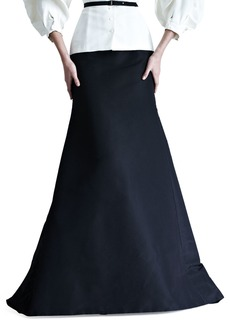 Silk Faille Gown Skirt