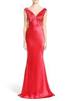 Carolina Herrera Silk Satin Gown