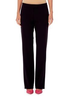 Carolina Herrera Straight-Leg Wool Pants