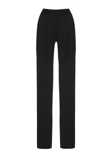 Carolina Herrera Stretch-Wool Straight-Leg Pants
