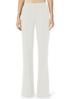 Carolina Herrera Stretch Wool Wide-Leg Pants  White