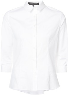 Carolina Herrera three-quarter sleeve classic shirt