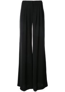 Carolina Herrera triple pleated wide leg pants