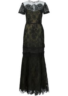 Carolina Herrera two-tone organza gown