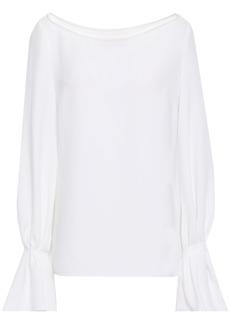 Carolina Herrera Woman Crepe Blouse White