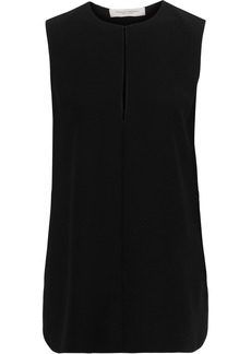 Carolina Herrera Woman Crepe Top Black