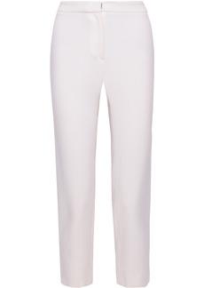 Carolina Herrera Woman Cropped Wool Straight-leg Pants Ivory