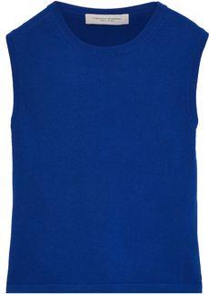 Carolina Herrera Woman Knitted Top Blue