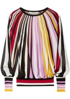 Carolina Herrera Woman Striped Knitted Sweater Multicolor