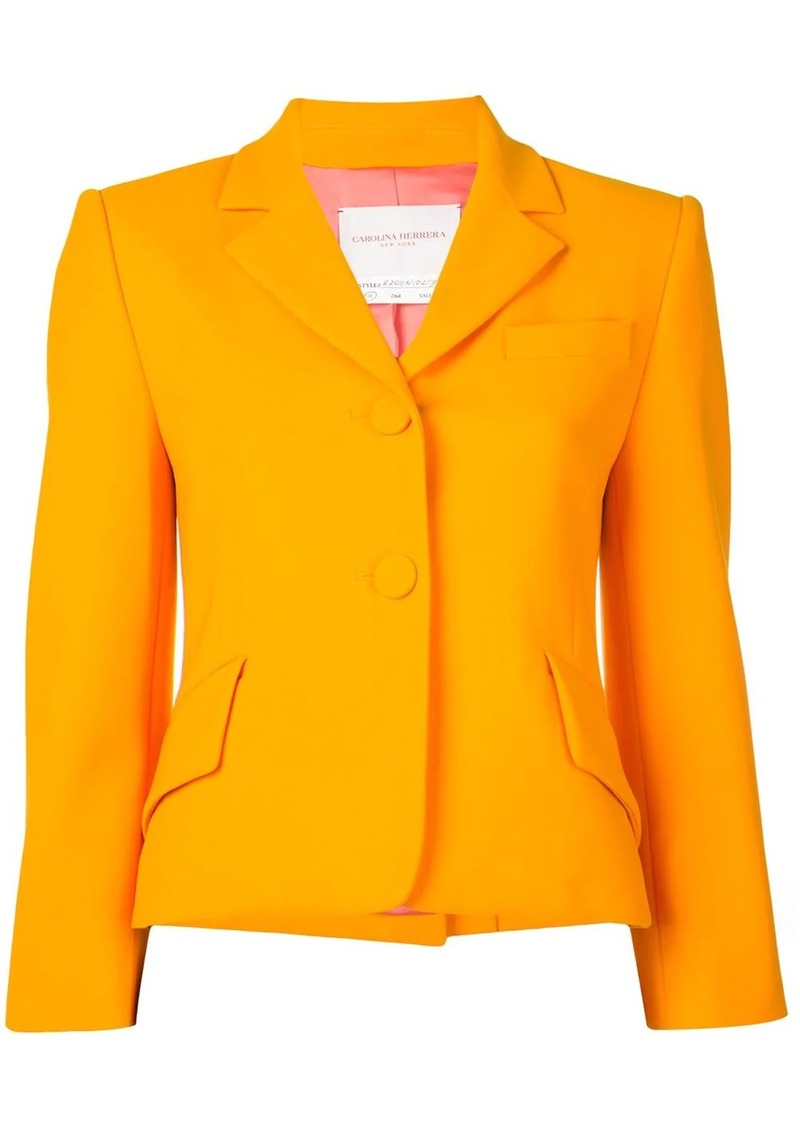Carolina Herrera cropped blazer