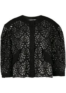 Carolina Herrera cropped jacket