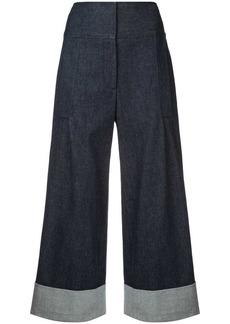 Carolina Herrera cropped wide trousers