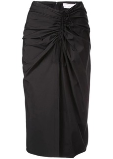 Carolina Herrera draped skirt