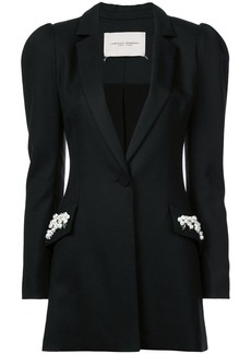 Carolina Herrera embellished pocket jacket