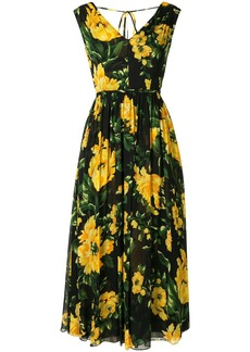 Carolina Herrera floral-print midi dress