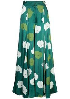 Carolina Herrera floral print palazzo pants