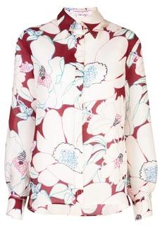 Carolina Herrera floral print shirt