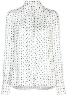0d0a290d5 Carolina Herrera Tie front sleeveless blouse | Casual Shirts