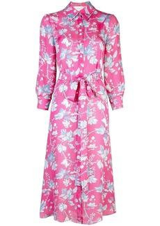 Carolina Herrera floral print shirt dress