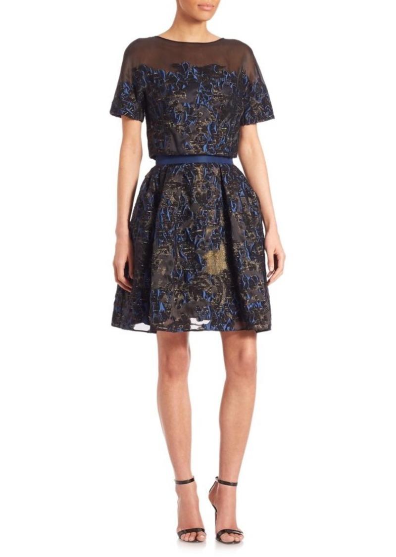 c07557720eed Carolina Herrera Flower Degrade Convertible Cocktail Dress | Dresses
