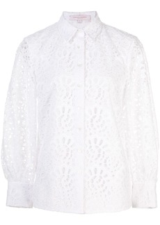 Carolina Herrera laser cut shirt