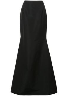 Carolina Herrera long flared skirt