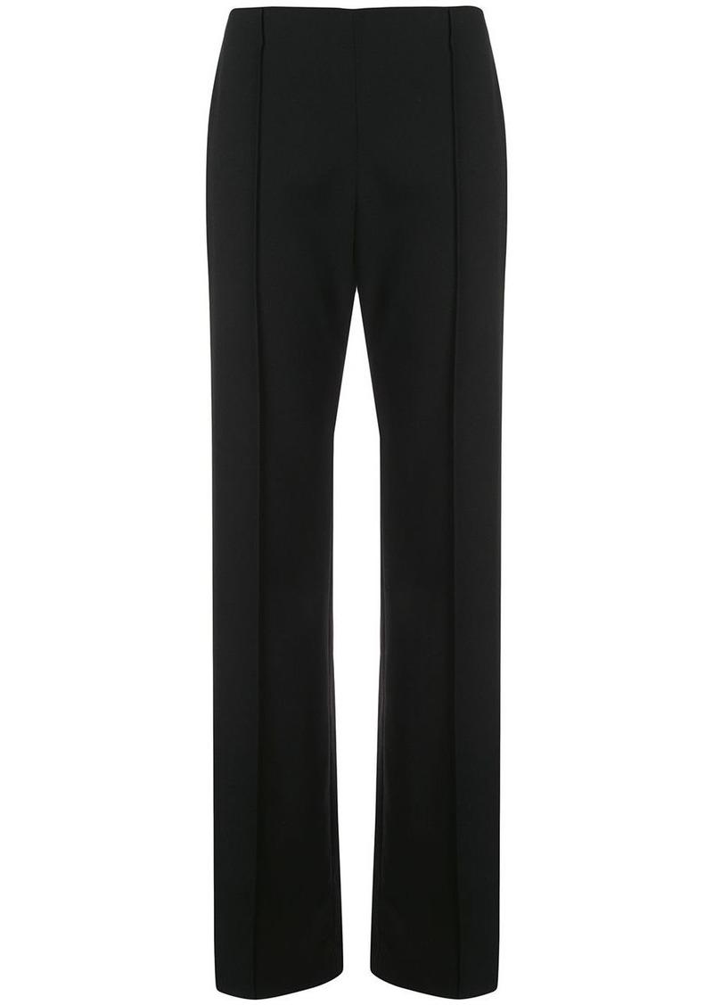 Carolina Herrera piped straight trousers