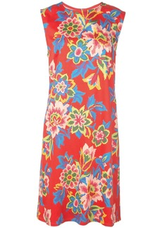 Carolina Herrera pixelated floral print dress