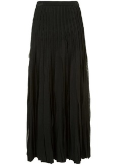 Carolina Herrera pleated skirt