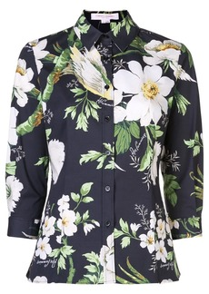 Carolina Herrera printed floral shirt