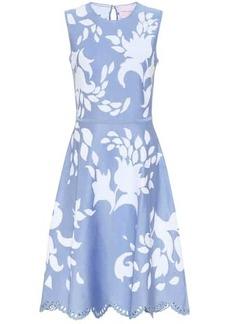 Carolina Herrera Printed midi dress