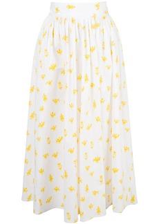 Carolina Herrera printed midi skirt