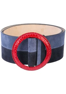 Carolina Herrera round buckle belt