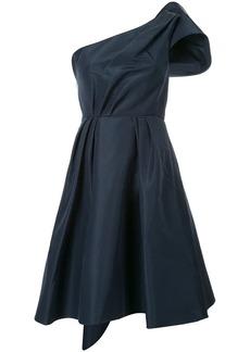 Carolina Herrera silk faille bow dress