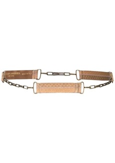 Carolina Herrera snake chain belt