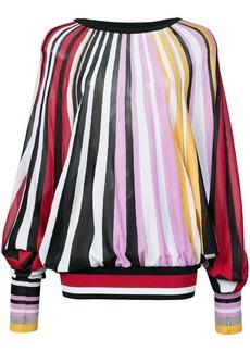 Carolina Herrera striped loose blouse