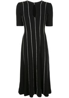 Carolina Herrera striped midi dress